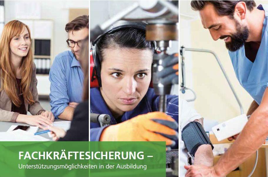 """Featured image for """"FACHKRÄFTESICHERUNG – Neue Broschüre der Regionalagentur Westfälisches Ruhrgebiet"""""""